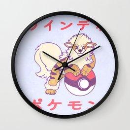 Arcanine Wall Clock