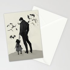 Father Daughter Time Stationery Cards