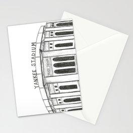 Yankee Stadium Stationery Cards