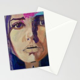 'I AM' by Lesley Morrow Stationery Cards