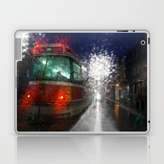 Rain Rider Laptop & iPad Skin