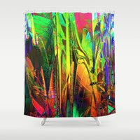 blues Shower Curtains featuring Blues. by Assiyam