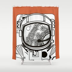 Searching for human empathy 1 Shower Curtain