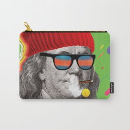 Smoking Franklin Carry-All Pouch