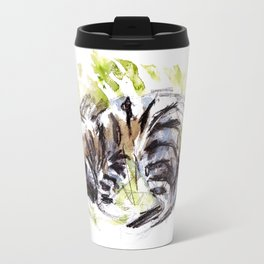Totem striped hyena (Hyaena hyaena) Travel Mug