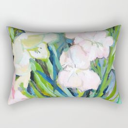Gladiolus. Sword Lily. Flower. Bouquet. Rectangular Pillow