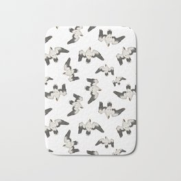 Birds Pattern Photo Collage Bath Mat