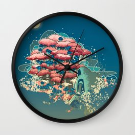 Journey /Discovery  Wall Clock