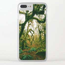Into the Wild XII Clear iPhone Case
