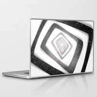 persona Laptop & iPad Skins featuring Into the TV (Persona 4) by ASHPLUS