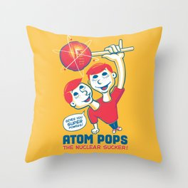 Space Age Suckers Throw Pillow