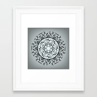 weapons of mass creation Framed Art Prints featuring Weapons of Mass Destruction - Print by Siggeir M. Hafsteinsson