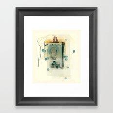 Tag Framed Art Print