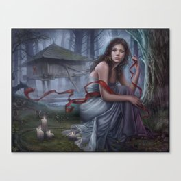 Night unseen Canvas Print
