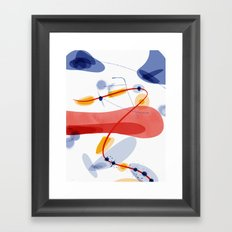 A little Chaos | Happy Modern Art Framed Art Print