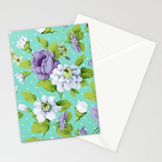 Hopeless Romantic - aqua version Stationery Cards