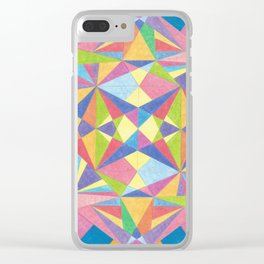 KKP 002 - Crystal imagination Clear iPhone Case