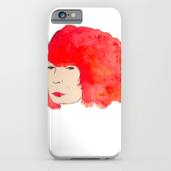 Fire Head iPhone & iPod Case