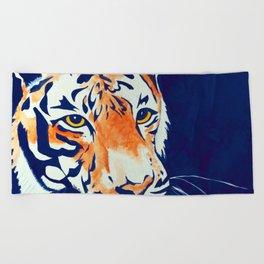 Auburn (Tiger) Beach Towel