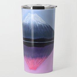 Two Fuji - Painting Travel Mug