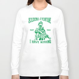 Soldier Of Fortune Long Sleeve T-shirt