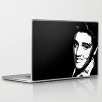 elvis Laptop & iPad Skins featuring Elvis by DRMdesign
