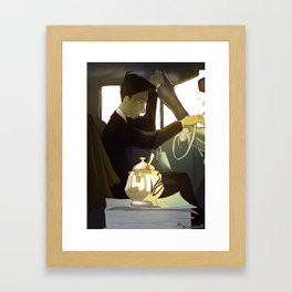 the sugar bowl Framed Art Print