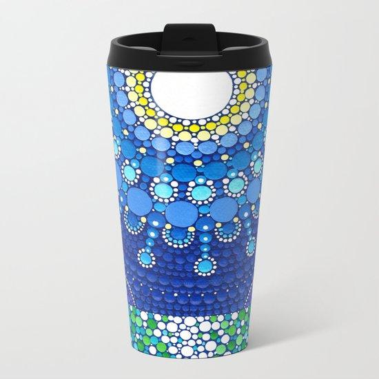 Full Moon Splendour Metal Travel Mug