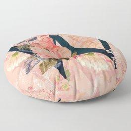 W (Initials) Floor Pillow