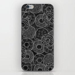 Dark donut | Love donuts | Goth donut | Donut Decor | Donut Designs iPhone Skin