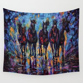 Roaming Free Wall Tapestry