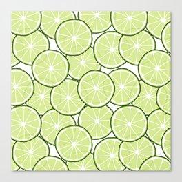 Lime Canvas Print