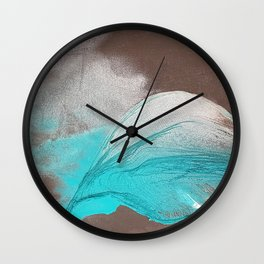 Mountain in the Valley Wall Clock