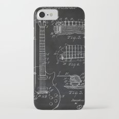 Gibson Guitar Patent Les Paul Vintage Guitar Diagram iPhone 7 Slim Case