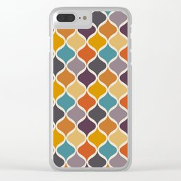 Moroccan Fall 2 Clear iPhone Case