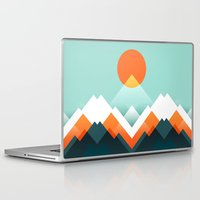 outdoor Laptop & iPad Skins featuring Everest by Picomodi