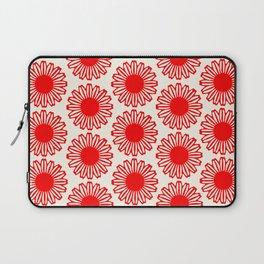 vintage flowers red Laptop Sleeve