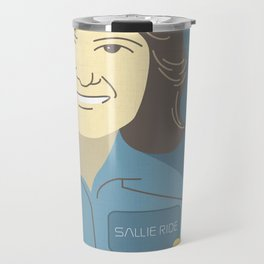 Sally Ride Portrait Travel Mug