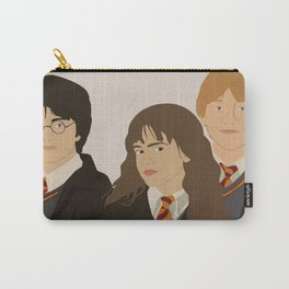 Harry, Ron and Hermoine Carry-All Pouch