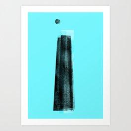 Jacobs' Ladder Art Print