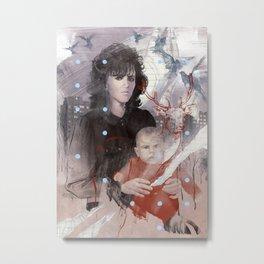 Sacred Deer Metal Print