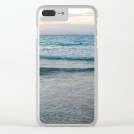 Ocean Wanderlust Clear iPhone Case
