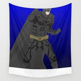 Bat man (The Dark Knight)(Vector Art) Wall Tapestry