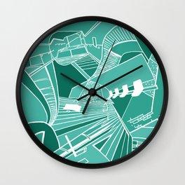 PARISIAN SUBWAY Wall Clock