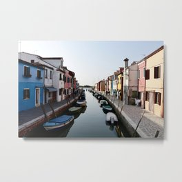 Burano, Italy Metal Print