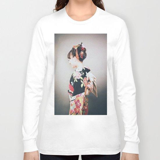 Woman japanese style Long Sleeve T-shirt