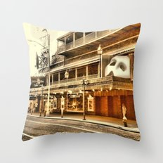 Give My Regards To Broadway Throw Pillow
