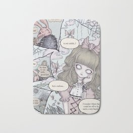 Creepy Little Alice Bath Mat