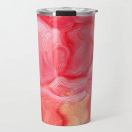 Red Rose Rebel Travel Mug