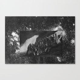 voie lactée Canvas Print